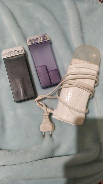 Воскоплав и кассета с воском