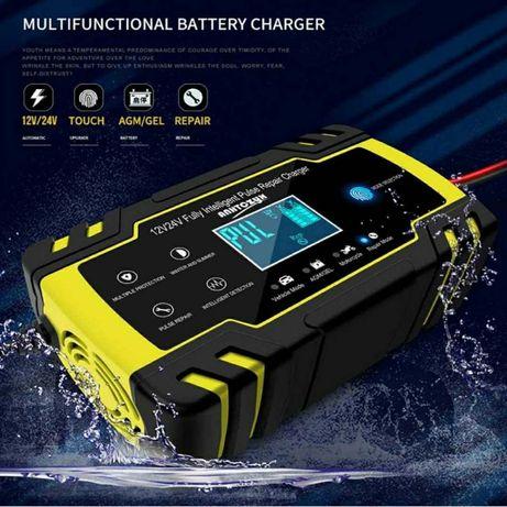 Carregador baterias p/carro - moto