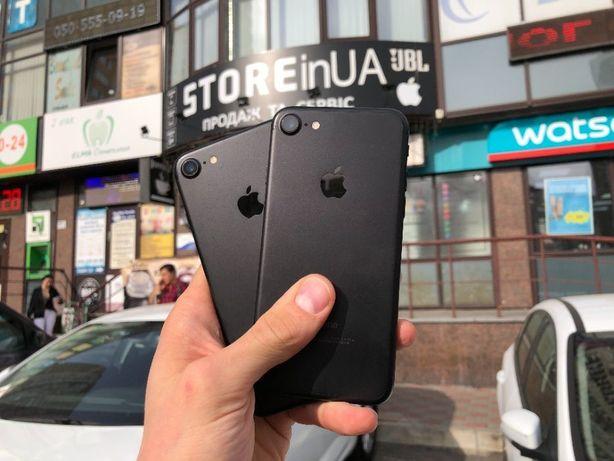 Айфон 7 32гб черный / iPhone 7 32gb Black Гарантия 3 месяца! Идеальные