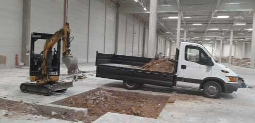 Transport wywrotka do 3.5 t  piasek ziemia wywóz przeprowadzki bus