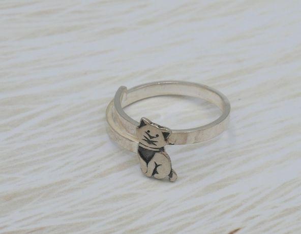 Srebrny 925 pierścionek dla dziewczynki