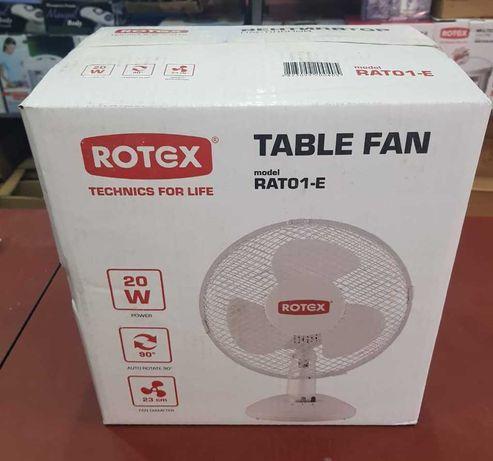 Вентилятор настольный Rotex RAT01-E