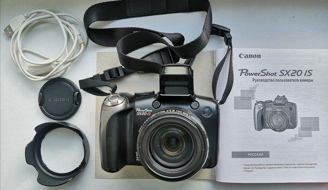 Фотоаппарат Canon PowerShot SX20IS