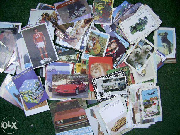 Продаю коллекцию календариков 1980 1999 годы