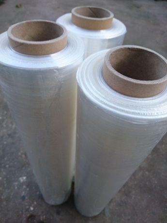 Стрейч пленка 2,2кг 10мкр 400м первичная упаковочная ( скотч пузырьёк)