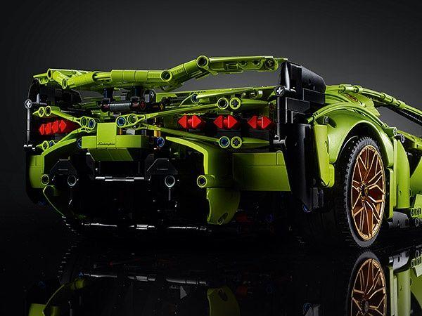 Set Lego carro / Lamborghini Sián