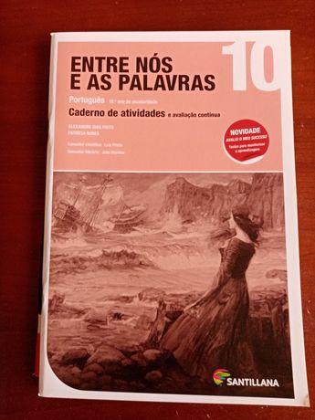 Caderno de atividades - Português - Nós e as palavras (10 ano)