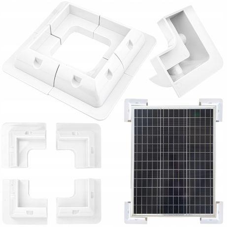 Uchwyty narożne montażowe do panel solarny kamper [SOL55]
