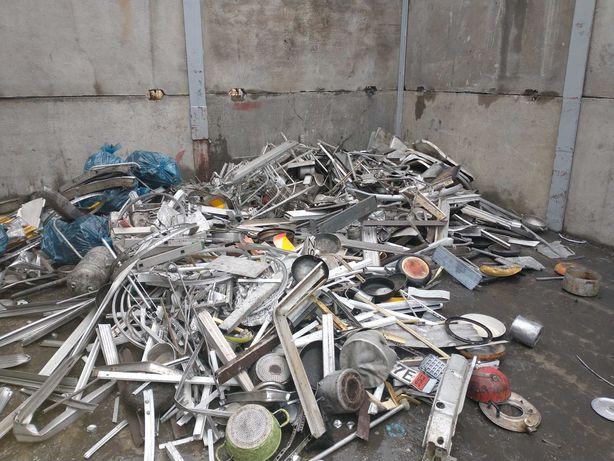 Mobilny punkt skup złomu aluminium plastyczne hurt detal 4000 tyś za t