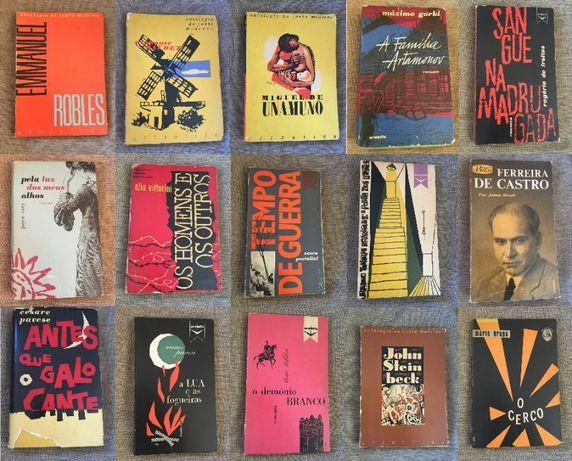Literatura, Capas de Victor Palla - Tolstoi, Pavese, Mário Braga, etc.