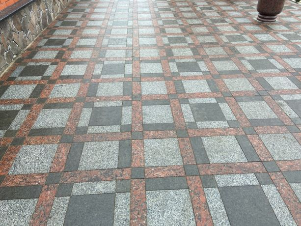 Тротуарная плитка гранит