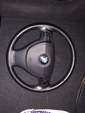 Руль bmw f10, f11 с подушкой в идеальном состоянии