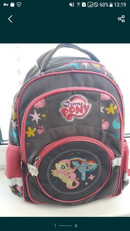 Фирменный портфель/рюкзак Kite My little pony для 1-4 класса