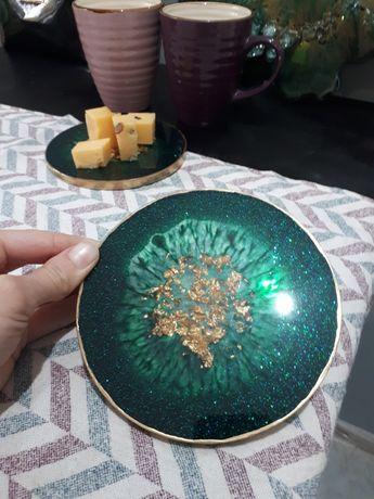 Подстаканники костеры набор декор для дома  из эпоксидной смолы