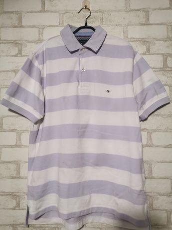 Мужская футболка, футболка с воротником, поло Tommy Hilfiger.