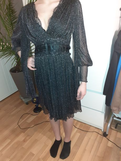 Suknia na bal, uroczystość, vintage, S