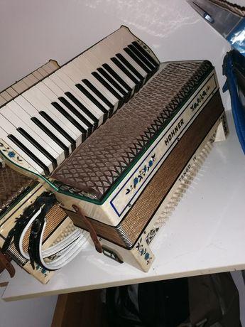 Akordeon Hohner Tango IV 120 basowy 4 chorówy kanciak niemiecki