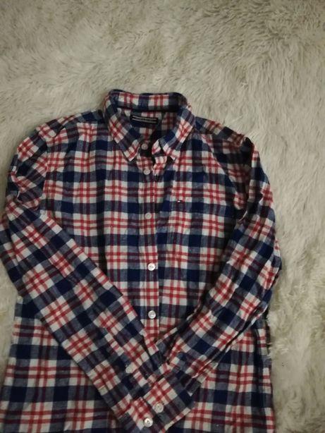 koszula TOMMY HILFIGER 164, xs/s kratka, koszula 14-16 lat