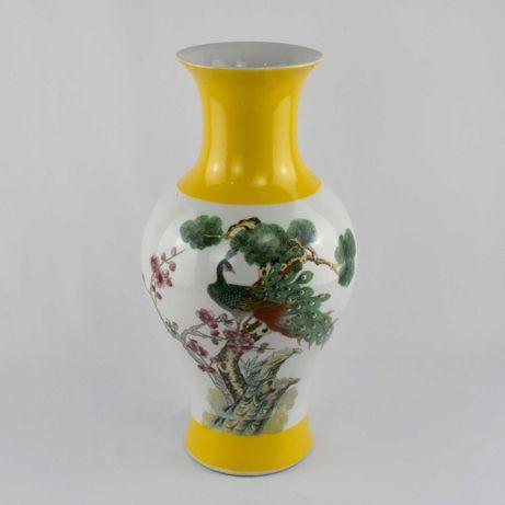 Jarra / Jarrão porcelana da China, com carateres chineses