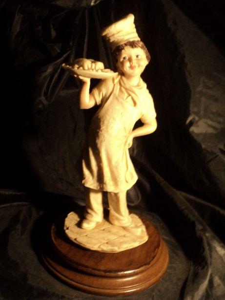 Статуэтка фарфоровая 30см из Франции антиквариат старина бисквит керам