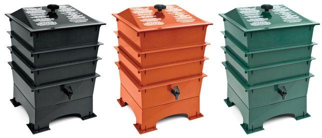 Vermicompostor kit completo - oferta minhocas   Worm composting