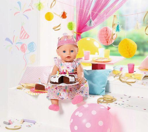 BABY born - Zestaw urodzinowy dla lalki - Hit z reklamy TV