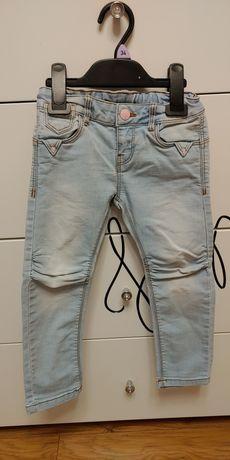 Spodnie dla dziewczynki 3-4 lata, 2 para gratis