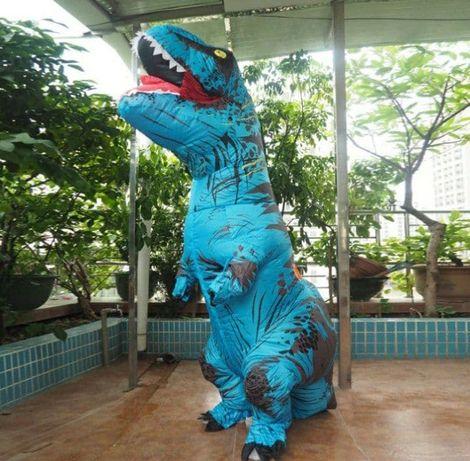 Надувной костюм Тираннозавра, T Rex косплэй, костюм динозавра T-Rex