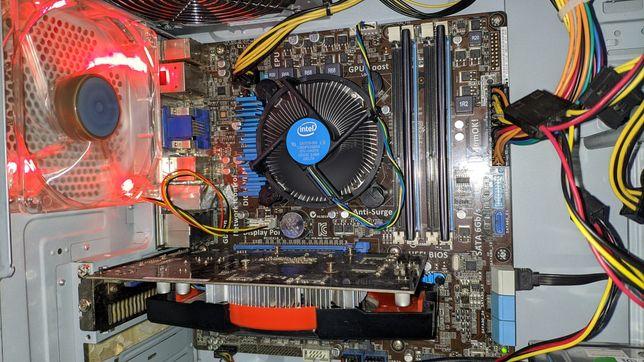 Системный блок, Игровой ПК i3 3220 4gb ОЗУ gt 440 1gb.