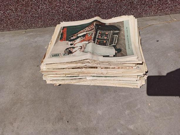 Przyjaciółka prl gazety 65 szt czasopismo unikat 1970 plakat historia