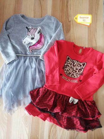 Sukienki dla dziewczynki 92