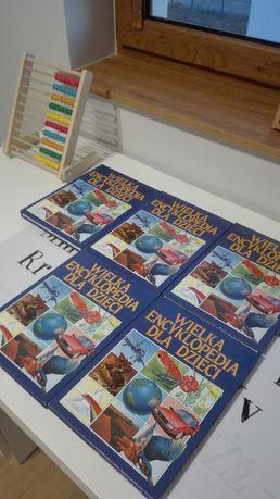 Wielka encyklopedia dla dzieci 5 tomow