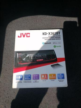 Radio samochodowe JVC  bluetooth