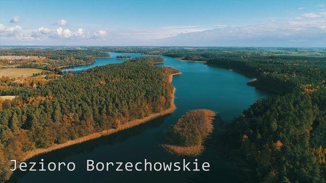 Sprzedam działkę nad jeziorem w Borzechowie-Bory Tucholskie