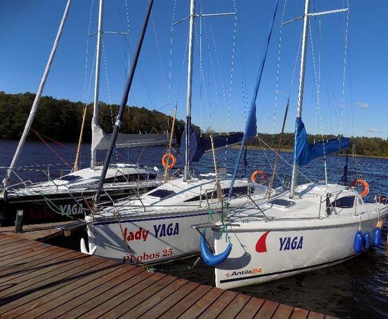 Czarter wynajem jachtu houseboat żaglówki jezioro Jeziorak Iława WOLNE