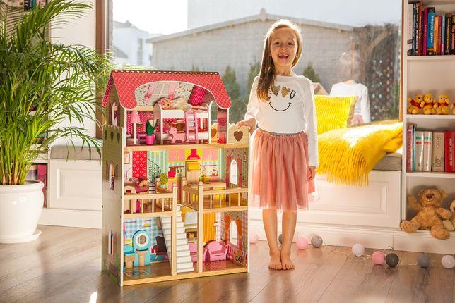 Деревянный кукольный домик Резиденция Малинова 4109 большой дом барби