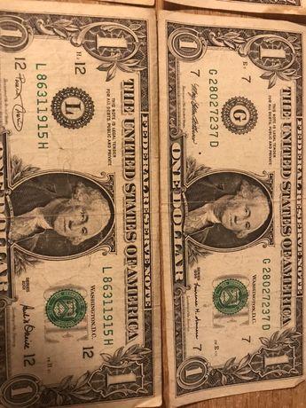 1доллар США