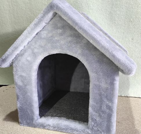 Домик будка лежанка из меха для собаки . Производитель. Daisy-465