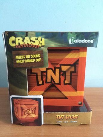 Crash Bandicoot - TNT Light - Lampka z dźwiękiem - Nowa