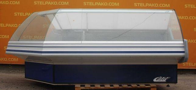 Холодильная угловая витрина «Cold W 28 SG» 2.8 м. (Польша), Б/у 77127