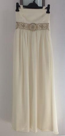 Zwiewna, delikatna Suknia Ślubna lub na poprawiny