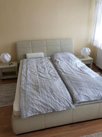 Łóżko + 2 szafki nocne eco skóra