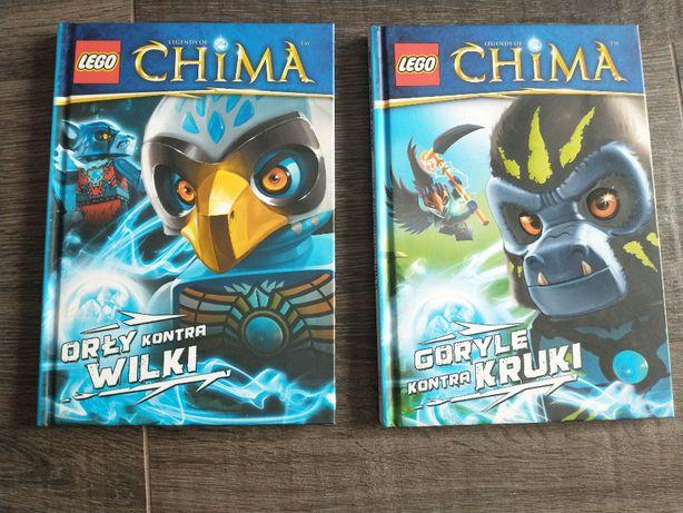Lego Chima - 2 książki jak nowe