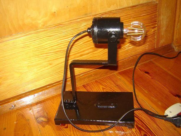 Oryginalna lampa lampka industrialna loft vintage industrial