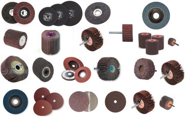 REVENDA - Lote de vários abrasivos - Discos de corte/rebarbar/lamelas