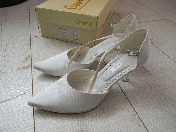 Buty białe ( ślubne ) rozmiar 38