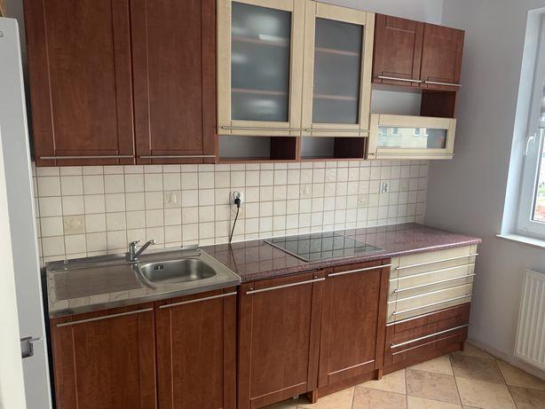 Zestaw mebli kuchennych ze zlewozmywakiem, baterią i blatem, 260cm