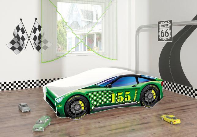 Łóżeczko, łóżko dziecięce car samochód 160x80