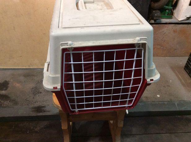 pojemnik klatka do transportu zwierząt