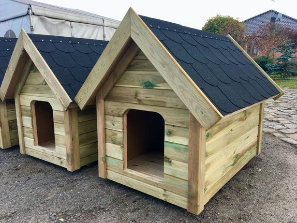 BUDA dla psa OCIEPLANA drewniana 65x110x100 cm całoroczna Poznań